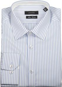 Koszula Lavard z klasycznym kołnierzykiem z tkaniny