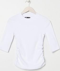 Bluzka Sinsay z okrągłym dekoltem w stylu casual