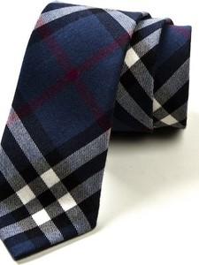 Niebieski krawat HisOutfit