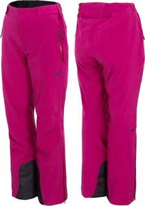 Różowe spodnie 4F w sportowym stylu