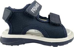 Granatowe buty dziecięce letnie Primigi dla chłopców