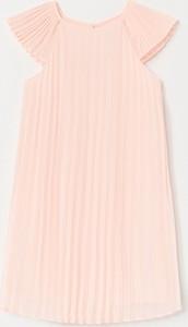 Różowa sukienka dziewczęca Reserved