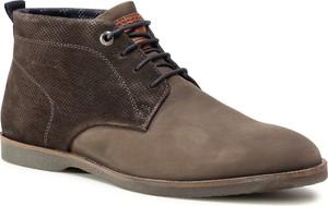 Brązowe buty zimowe S.Oliver
