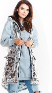 Płaszcz Awama z tkaniny w stylu casual
