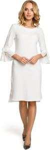 Sukienka MOE z długim rękawem z dzianiny