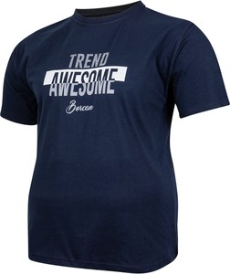 T-shirt Bigsize z bawełny