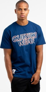 T-shirt Outsidewear z krótkim rękawem