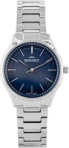 ZEGAREK DAMSKI BISSET BSBE67 - silver/blue (zb557c)