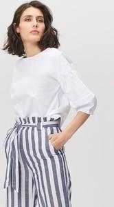 282d8f78d11111 Bluzka FEMESTAGE Eva Minge z okrągłym dekoltem z bawełny