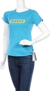Niebieska bluzka Ion z bawełny w sportowym stylu