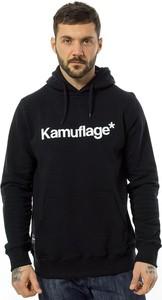 Czarna bluza Kamuflage* z bawełny
