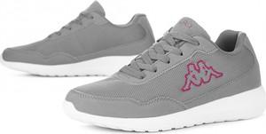 Buty sportowe Kappa z płaską podeszwą sznurowane w sportowym stylu