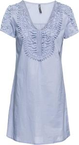 Sukienka bonprix RAINBOW z dekoltem w kształcie litery v z krótkim rękawem