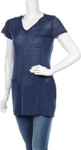 Granatowa bluzka Devernois