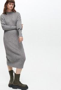 Sukienka Reserved w stylu casual midi prosta