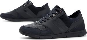 Buty sportowe Tommy Hilfiger z płaską podeszwą sznurowane