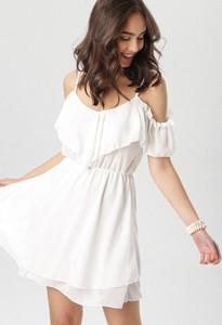 Sukienka born2be mini z krótkim rękawem w stylu casual
