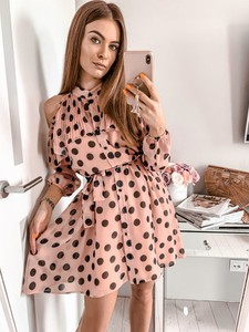 a5d04b18c7ca9 Sukienka L Amour w stylu casual z długim rękawem