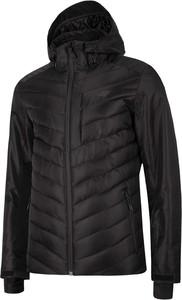 Czarna kurtka 4F w stylu casual krótka