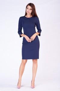000b8a46fa Granatowa sukienka butik-choice.pl