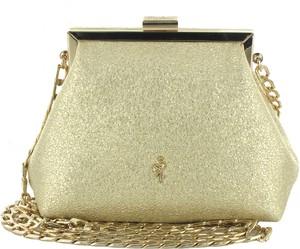 c22c228535d1a mała złota torebka - stylowo i modnie z Allani