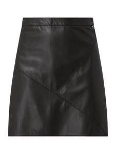 Spódnica Tom Tailor Denim ze skóry ekologicznej mini