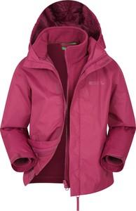 Różowa kurtka dziecięca Mountain Warehouse
