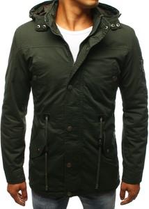 Zielona kurtka Dstreet z bawełny