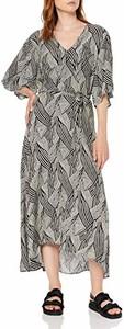 Sukienka amazon.de z dekoltem w kształcie litery v w stylu casual maxi