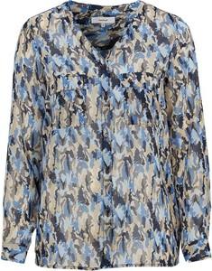 Bluzka Soyaconcept w stylu boho z dekoltem w kształcie litery v