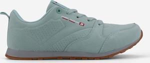 Zielone buty sportowe Yourshoes sznurowane
