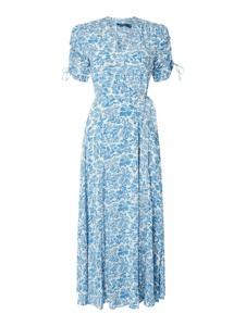 Turkusowa sukienka POLO RALPH LAUREN w stylu casual