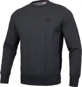 Granatowa bluza Pit Bull West Coast w stylu casual z dzianiny