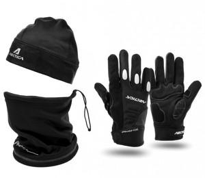 Czarne rękawiczki Arctica
