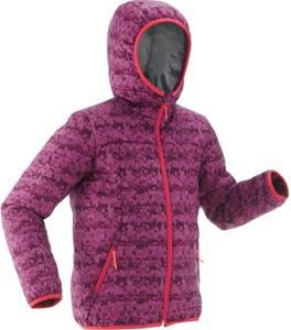 Fioletowa kurtka dziecięca Quechua