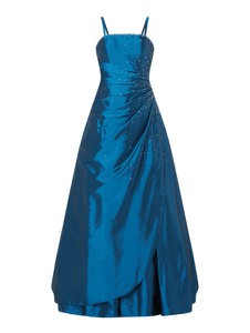 Sukienka Luxuar maxi z dekoltem w kształcie litery v