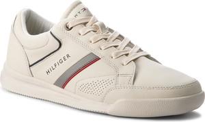 Buty sportowe Tommy Hilfiger ze skóry ekologicznej