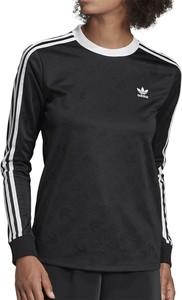 Koszulka z długim rękawem Adidas z żakardu
