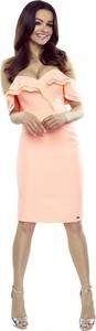 Różowa sukienka Bergamo
