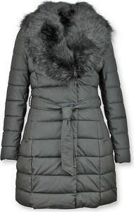 Czarny płaszcz Gentile Bellini