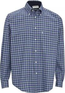 Niebieska koszula Barbour z bawełny w stylu casual