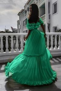 Zielona sukienka Ivet.pl maxi