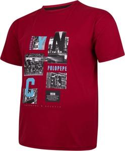 T-shirt Bigsize z krótkim rękawem w młodzieżowym stylu