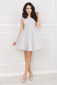 Sukienka Bosca Fashion mini gorsetowa z szyfonu