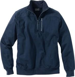 Granatowa bluza bonprix bpc selection bez wzorów