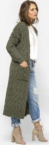Zielony sweter Freeshion z bawełny