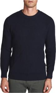 Niebieski sweter North Sails w stylu casual z okrągłym dekoltem
