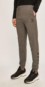 Brązowe spodnie sportowe Hummel