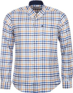 Koszula Barbour z długim rękawem z bawełny