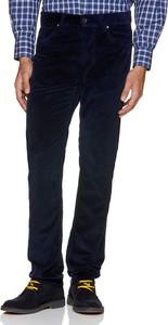 Granatowe spodnie United Colors Of Benetton ze sztruksu
